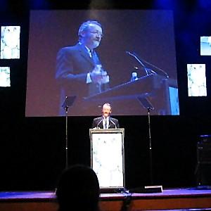 David accepting SOCAN Award